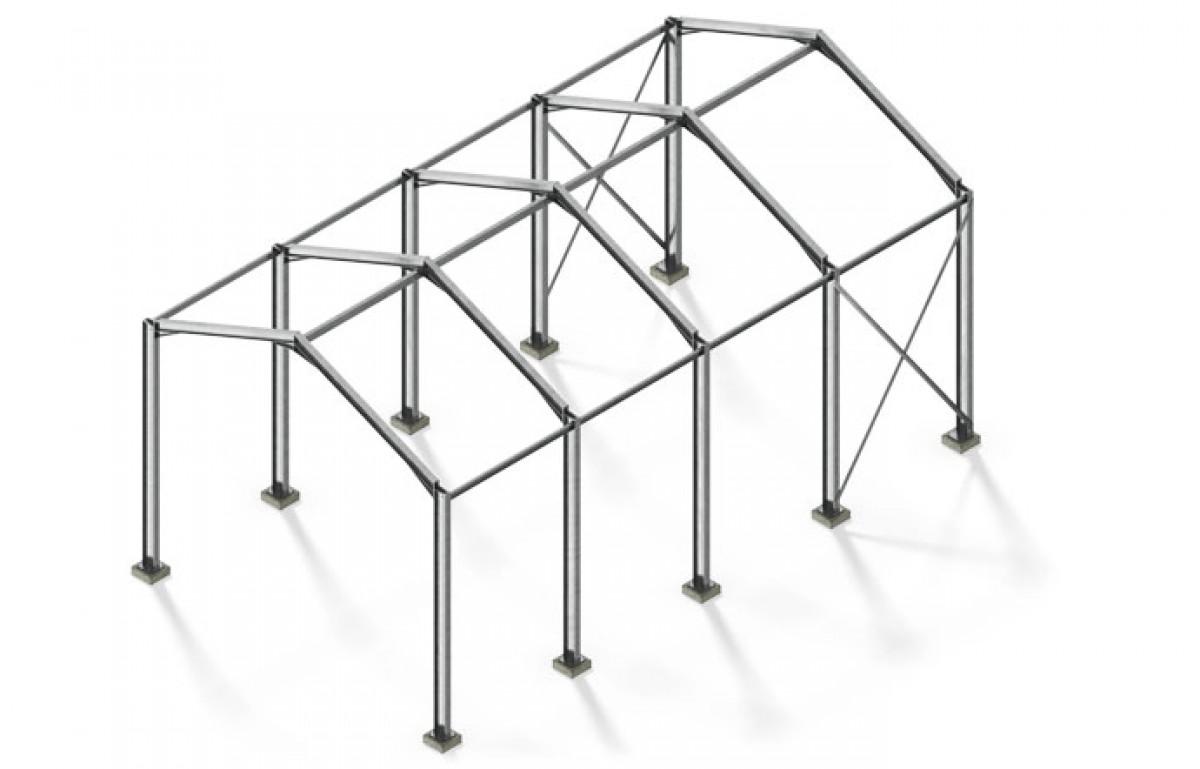 Full Structural Frame Surrey Steels Steel Fabricator