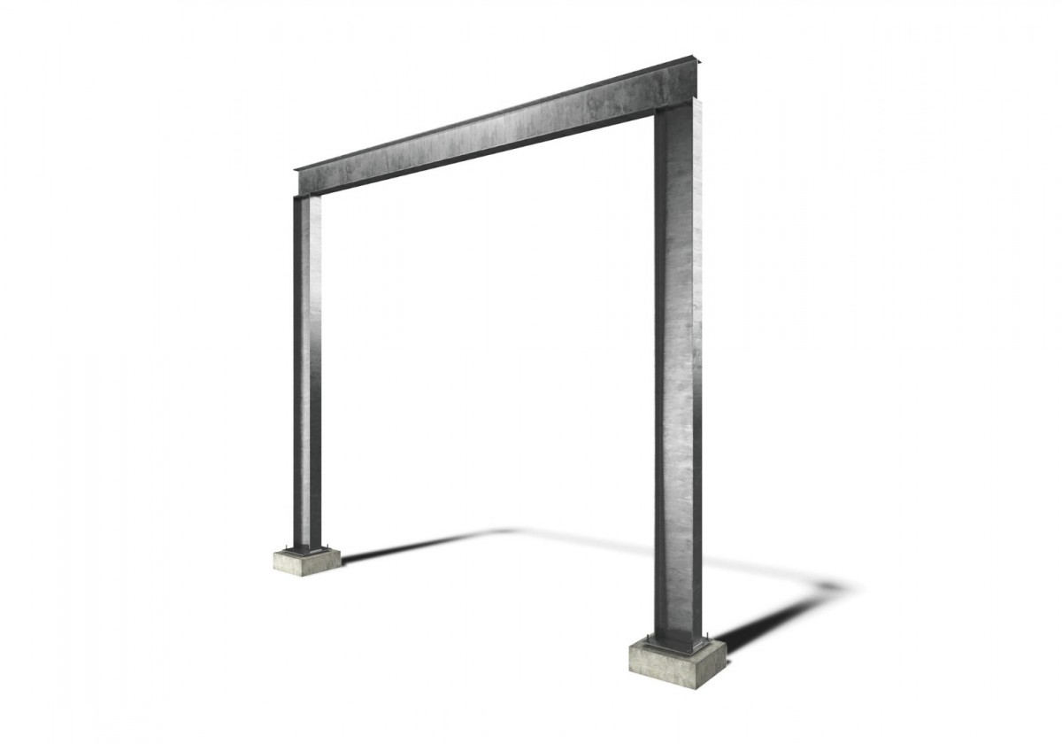Goal Post Frame Surrey Steels Steel Fabricator And