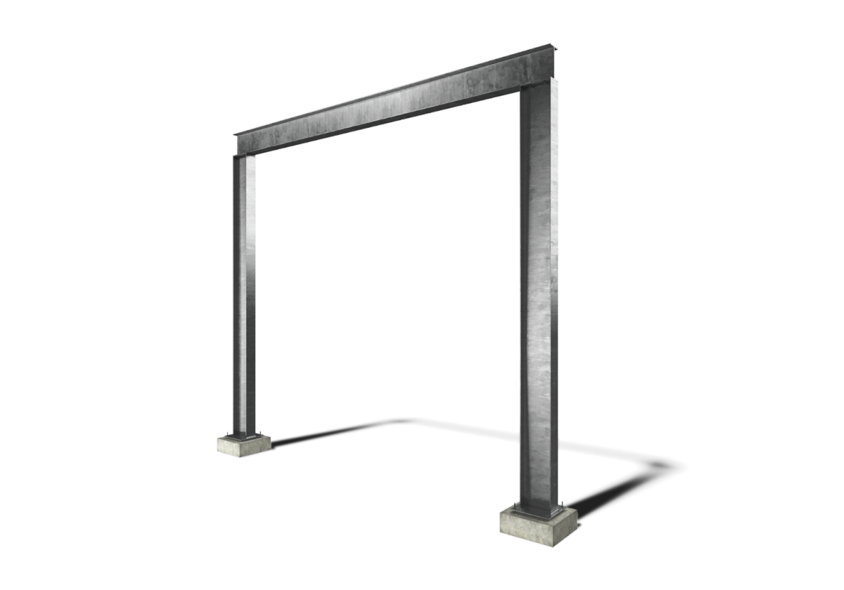 GOAL POST FRAME - Surrey Steels - Steel fabricator and supplier in ...